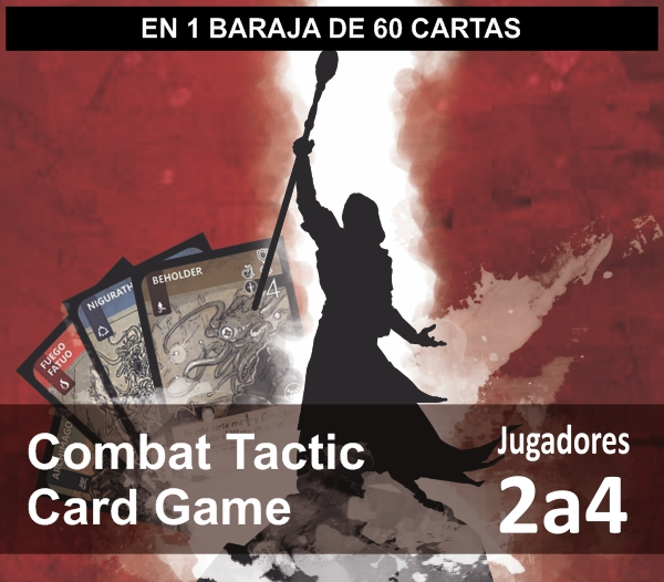 2 a 4 jugadores combat tactic card game